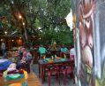 Terrasse du Restaurant Les 3 Eaux au camping