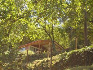 Camping de Belos Chalet Moréa Confort calme ombragé