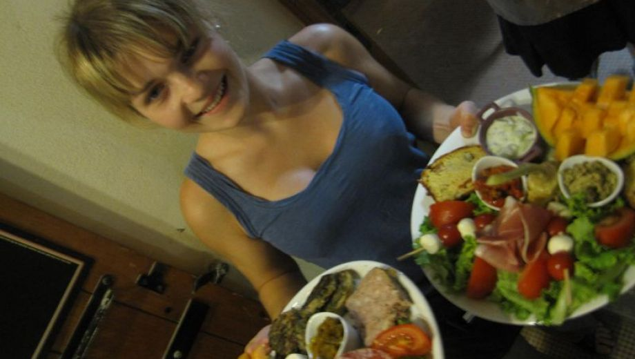 hum !! les bonnes salades