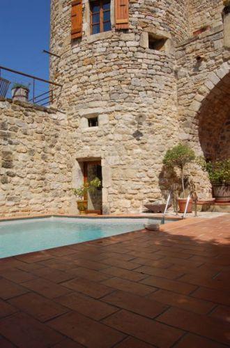 Gîte Ostau de Viltage - Piscine du Château