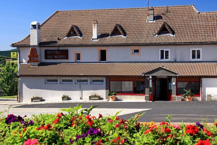 Hôtel du Nord 3* in Sainte Eulalie