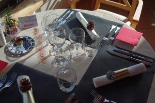 Vue de table