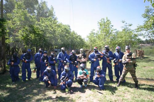 Paintball pour groupes, anniversaires