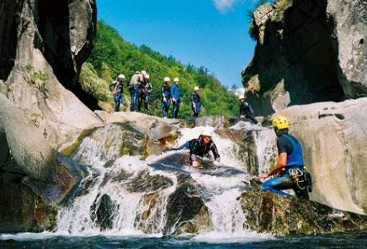 Canyoning in the Ardeche Gorges