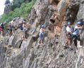 Via Ferrata dans les Gorges de l'Ardèche