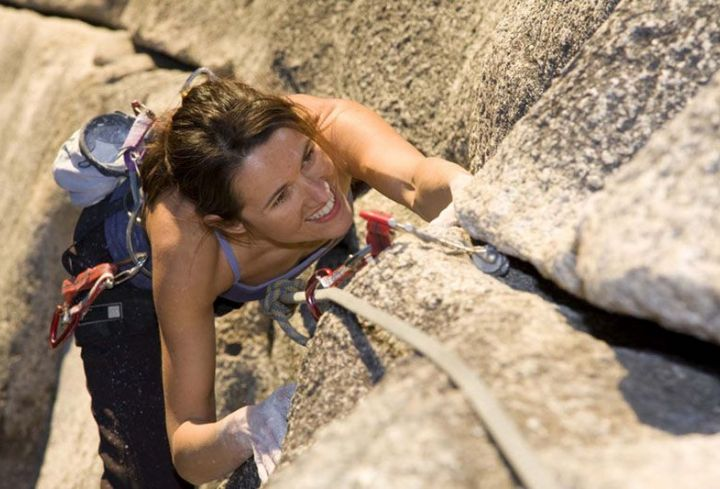 Climbing in the Ardeche Gorges