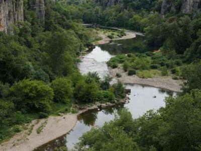 Rivière le Chassezac Sud Ardèche