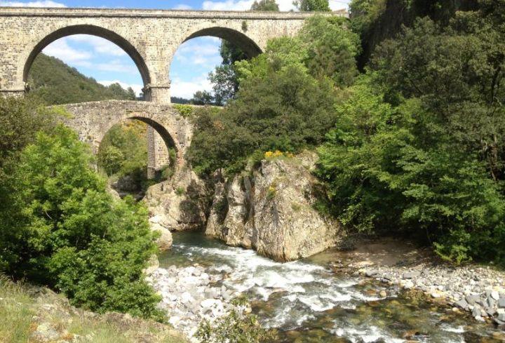 un de nos nombreux pont romain
