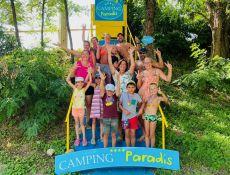 SHOTTING PHOTOS autour de notre signalétique Camping Paradis