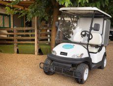 La Golfette CAMPING PARADIS  pour une balade avec notre TOM