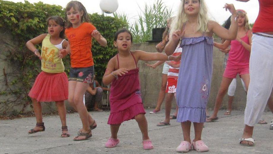 Spectacle de danse des enfants