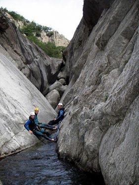 Canyoning / Caving with Ceven'Aventure - Les Vans