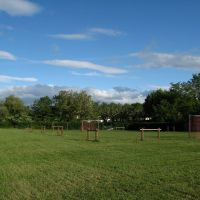 Football area of the campsite