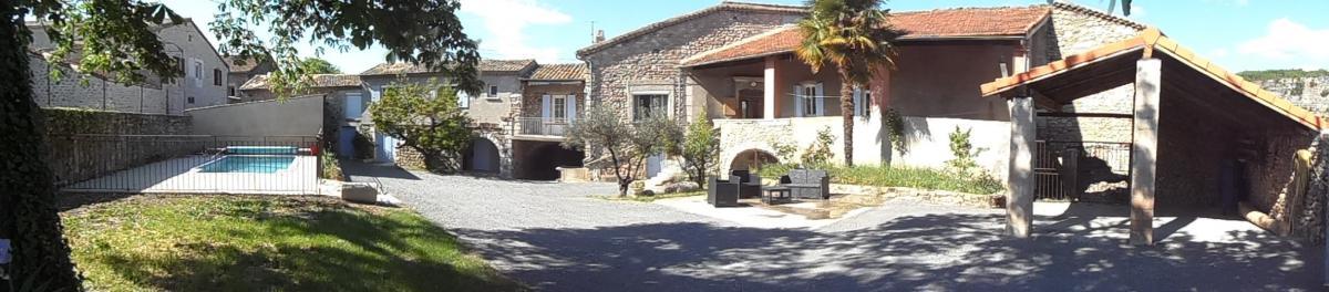 Promotion de Fin d'étéau Gîte Des Granges à Vogüé en sud Ardèche
