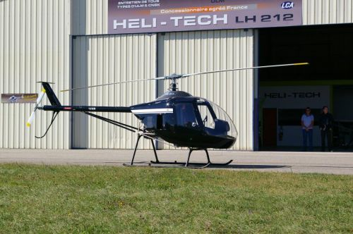 HELI TECH : First flight by helicopter - Montélimar
