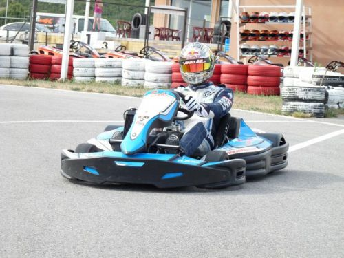 Track karting met MP KARTING - Aubenas (8 km)