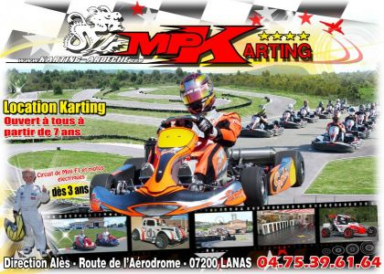 LOCATION KARTINGS DES 7 ANS