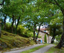 Chemin d'accès à La Grange