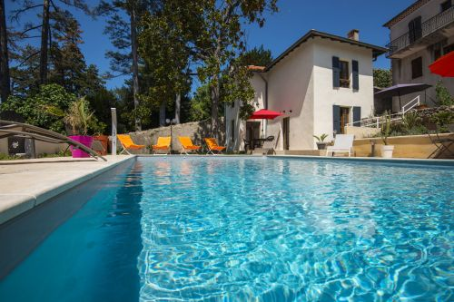 Le Clos d'Aubenas - Holiday villa with pool