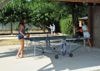 Ping-pong et terrain de pétanque du Coin Charmant