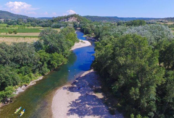Au bord de la rivière Cèze