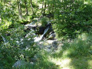 Besorgues waterfall