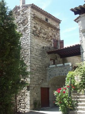 Front  tower